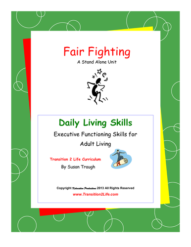 DLS Fair Fighting Workbook-Daily Living Skills