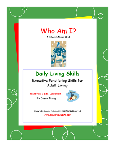 DLS Who Am I? College and Career Workbook-Daily Living Skills