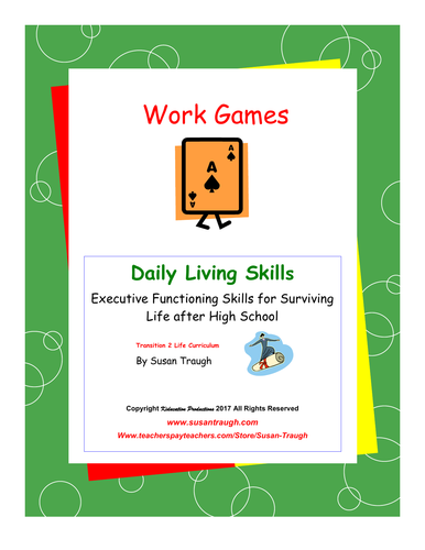 DLS Work Games-Daily Living Skills