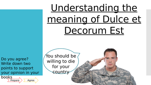 Dulce et Decorum Est - Wilfred Owen Resources