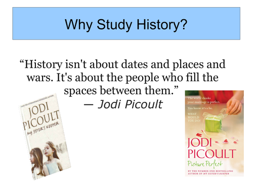 GCSE History - Persuade students to take History at GCSE with this excellent PPT