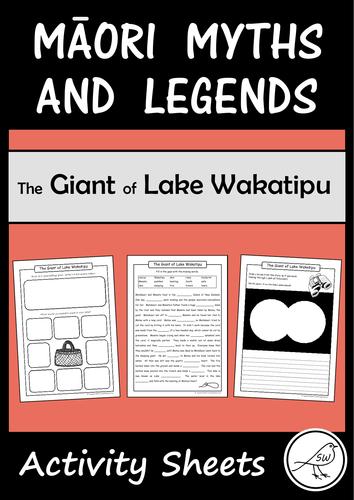 Māori Myths and Legends – The Giant of Lake Wakatipu