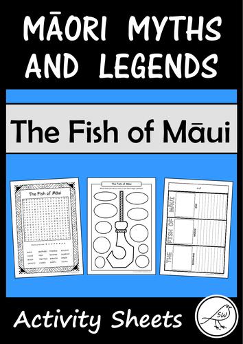 Māori Myths and Legends – The Fish of Māui