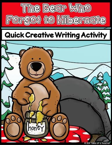 The Bear Who Forgot to Hibernate Writing Activity