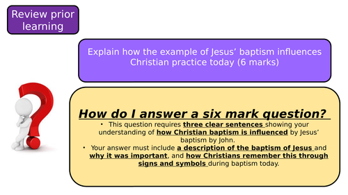 GCSE OCR - Christianity - Practices - Prayer