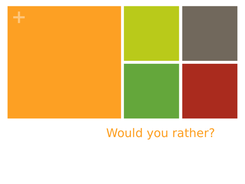 Would you rather...? CHRISTMAS EDITION - Perfect for developing reasoning / early morning tasks /P4C