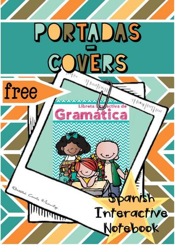 PORTADA LIBRETA INTERACTIVA ESPAÑOL / Spanish Interactive Notebook Covers
