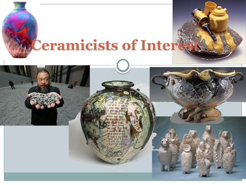 Ceramic Artists of Interest