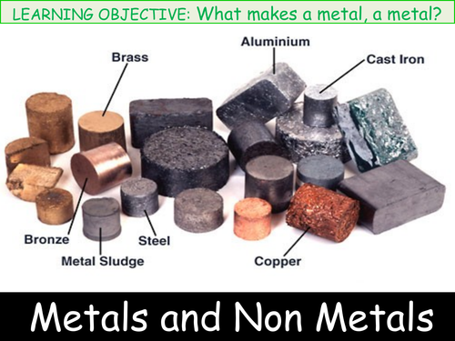 C2  Chapter 1.1 Activate 2 Metals and Non-Metals