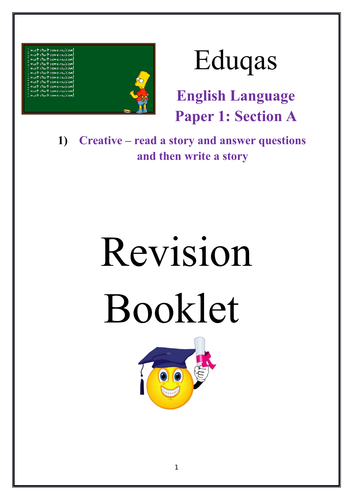 English Language Revision Booklet Eduqas Reading and Writing