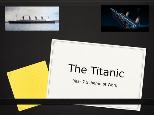 Titanic Drama SOW