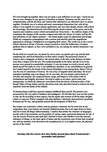 Narrative Essay Examples High School Aqa Style Frankenstein Exam Questions By Wturner  Teaching Resources  Tes Examples Of Essay Proposals also Apa Format Essay Example Paper Aqa Style Frankenstein Exam Questions By Wturner  Teaching  Essay For High School Application Examples