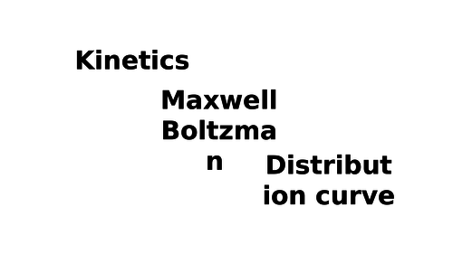 New AS Chemistry Kinetics ( rates) topic- Workbook and then Pwpt all topic!