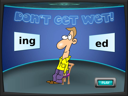 Adjectives  with ing or ed endings
