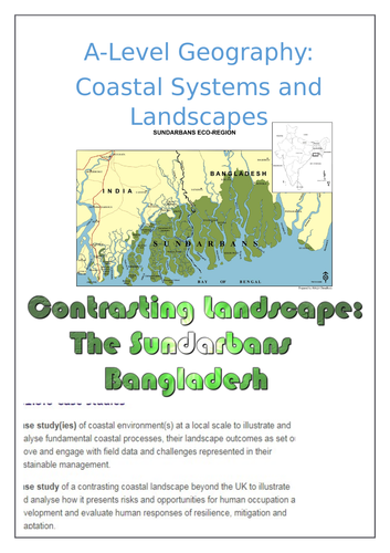 Contrasting Environment Case Study: The Sundarbans