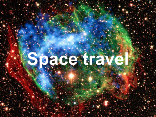 Space travel problems and difficulties, gravity, temperature, oxygen, cosmic radiation. Full lesson.