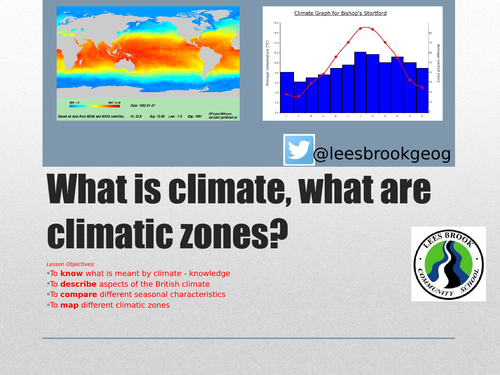 KS3 weather - L11 - climatic zones - fully resourced