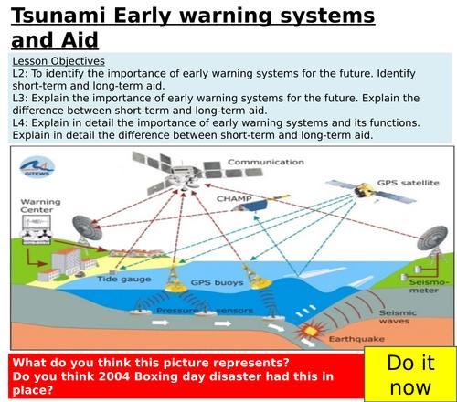 KS3 tectonics - L12 tsunami responses - fully resourced