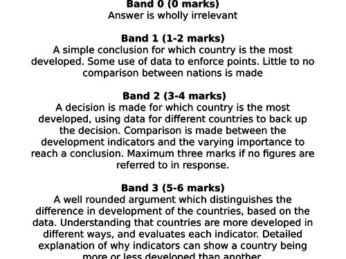 KS3 globalisation - L12 assessment - fully resourced