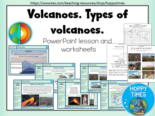 Volcanoes Lesson