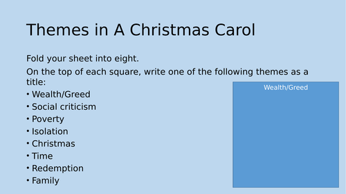 A Christmas Carol Homework Activities by louelma - Teaching ...