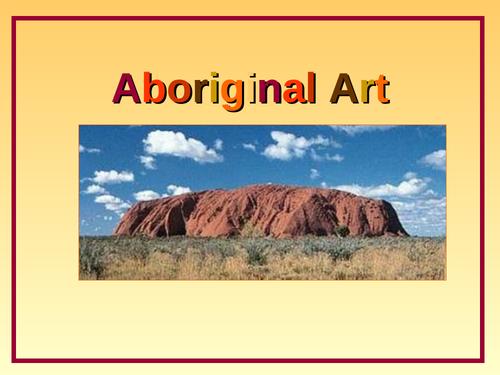 Aboriginal Art PowerPoint