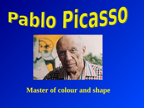 PABLO PICASSO - 2 PowerPoint Presentations & Information Booklet