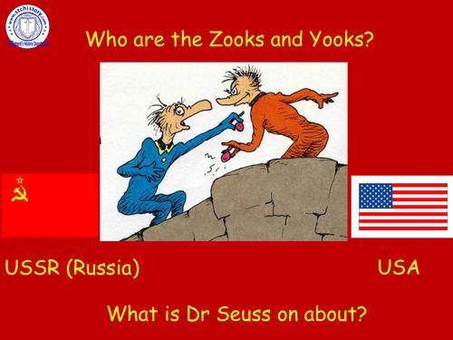 9-1 EDEXCEL: Cold War - Arms Race 1950s - 60s (EDITABLE)