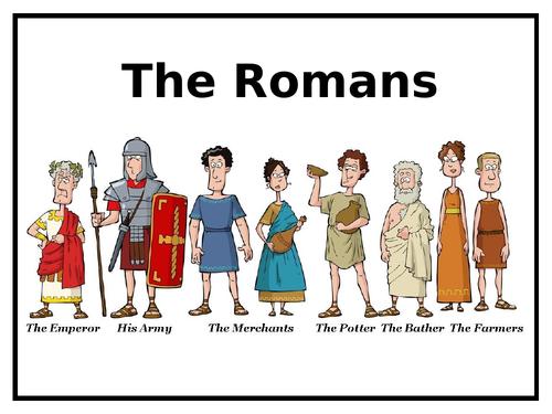 2 'Romans' PowerPoints + Worksheet