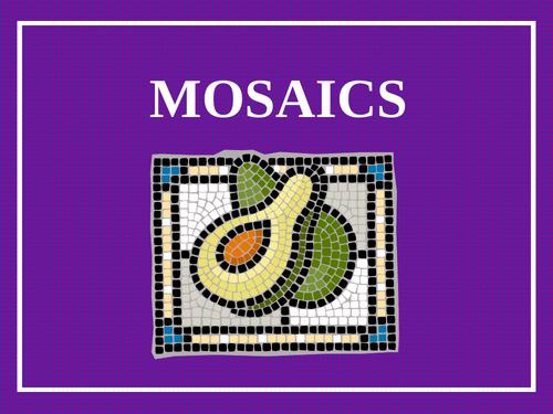 Romans 'Mosaics' DT Project