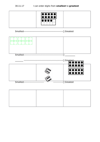 resources to support white rose maths year 1 block 4 place value week 2 by. Black Bedroom Furniture Sets. Home Design Ideas