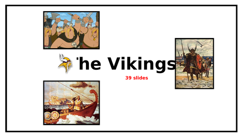 Vikings PowerPoint and Activities