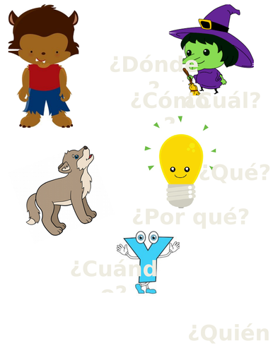 Spanish Question Word Poster/Handout