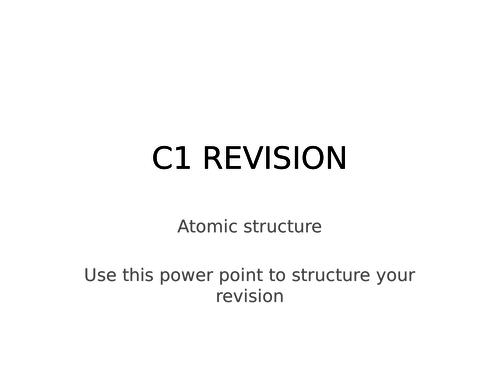 c1 revision