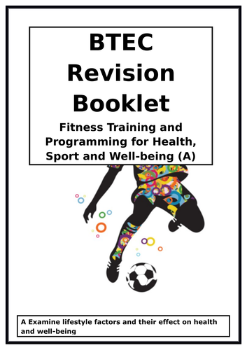 BTEC National in Sport -Unit 2 -  A - E - Complete student workbooks/revision