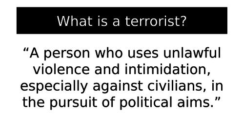 Terrorism assembly