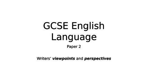 AQA English Language Paper 2 question 4, non fic