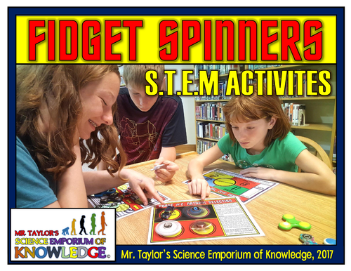 Fidget Spinners - STEM Activities
