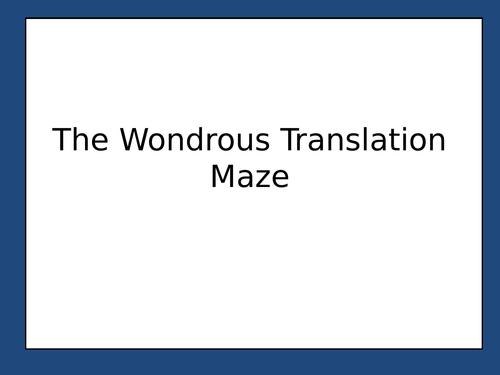 The Wondrous Translation activity - Mis vacaciones desastrosas