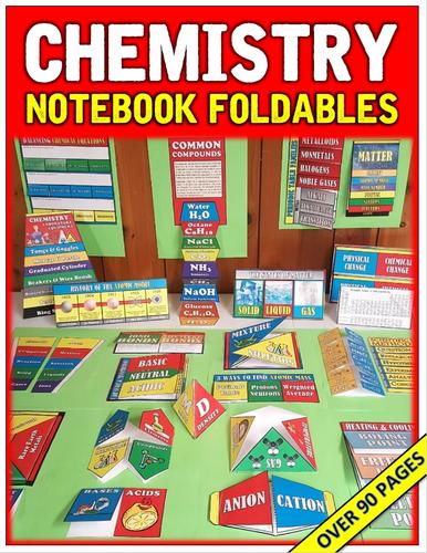 Chemistry Notebook Foldables