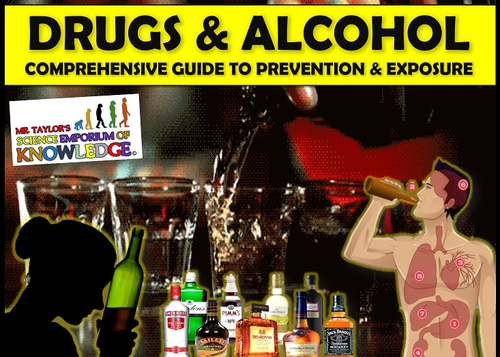 Drugs and Alcohol 3D Animated PowerPoint