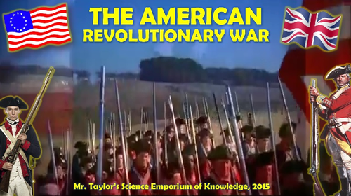 Revolutionary War 3D Animated PowerPoint
