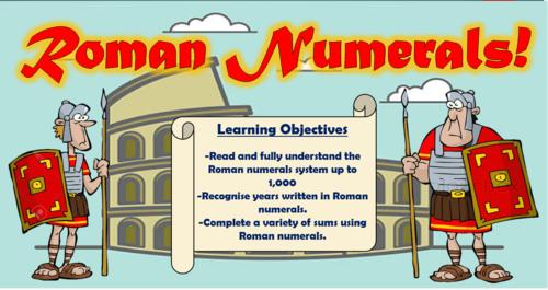Roman Numerals!