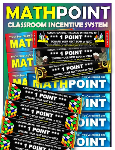 Math Points Incentive System