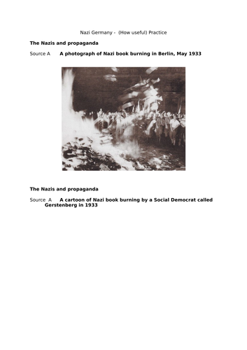 Edexcel 9-1 Useful Q Nazi Germany Propaganda