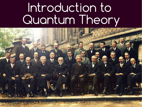 Introduction to Quantum Physics (A-Level)