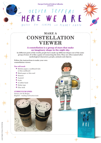 Oliver Jeffers Here We Are Constellations
