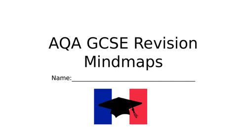 AQA GCSE French Revision Mindmaps