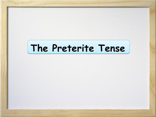 Spanish Preterite Tense Presentation