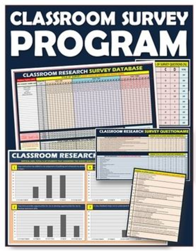 Teaching Surveys - Classroom Research and Statistic Program
